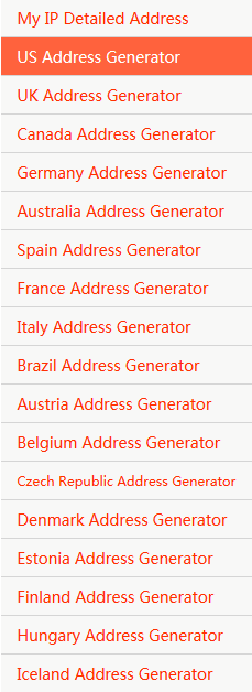 Fake Address Generator All Over The World - Home